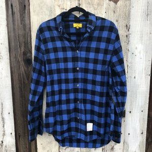 🐰 Five Four Poggy The Man Plaid Button Up